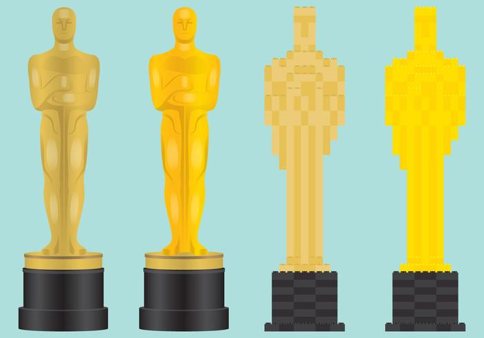 Vecteurs de statues Oscar