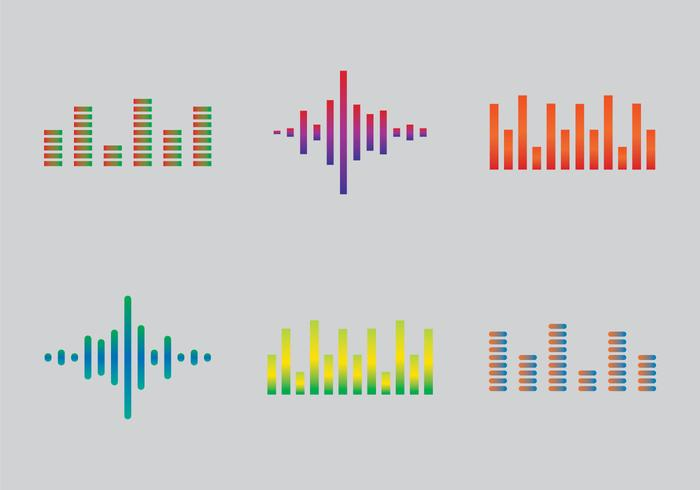 Free Sound Bars Vector Illustration