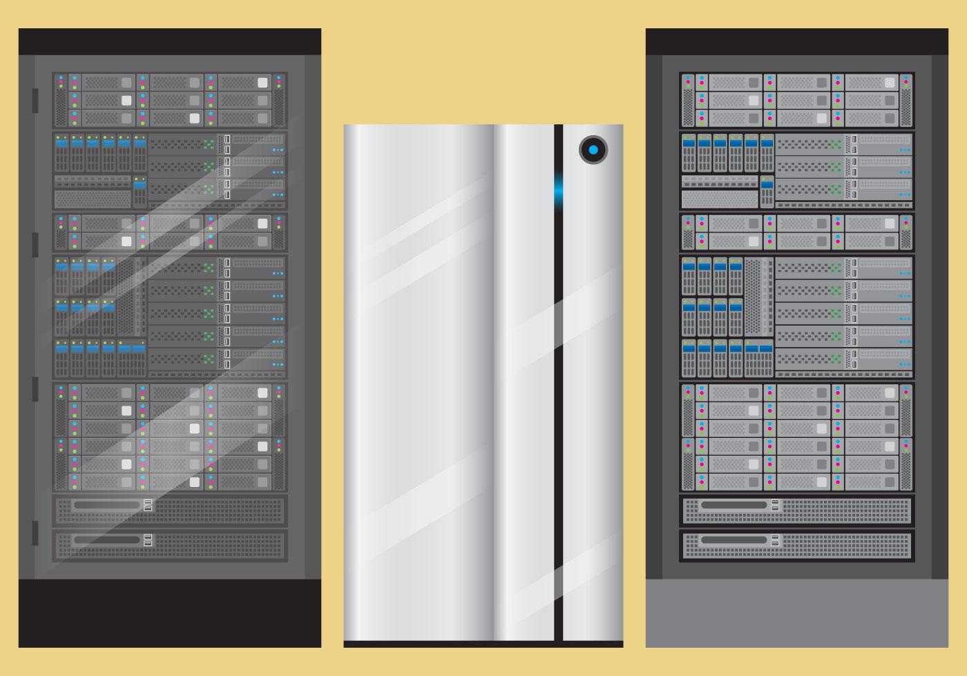 Server Rack Vectors Download Free Vectors Clipart