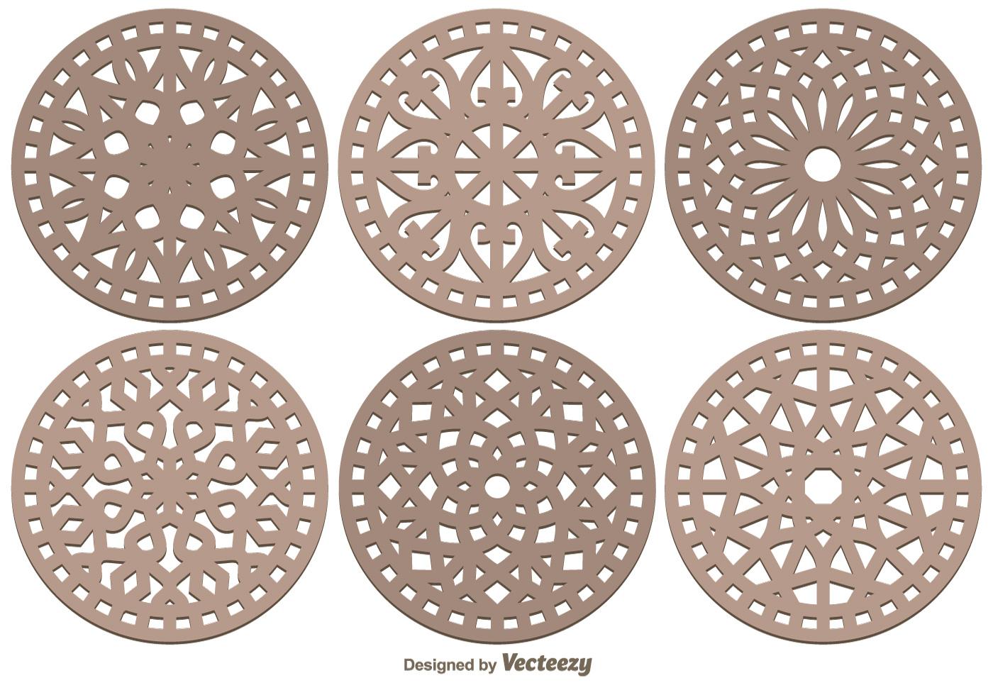 Laser Cut Decorative Vector Pack - Download Free Vector Art, Stock ...