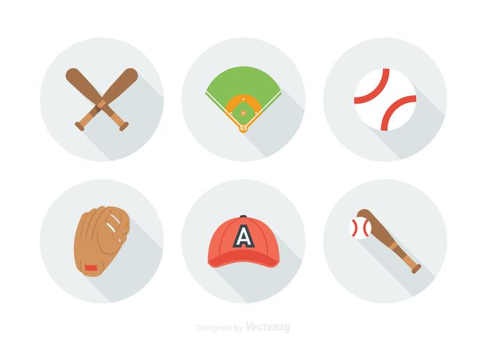 Free Baseball Vector Icons