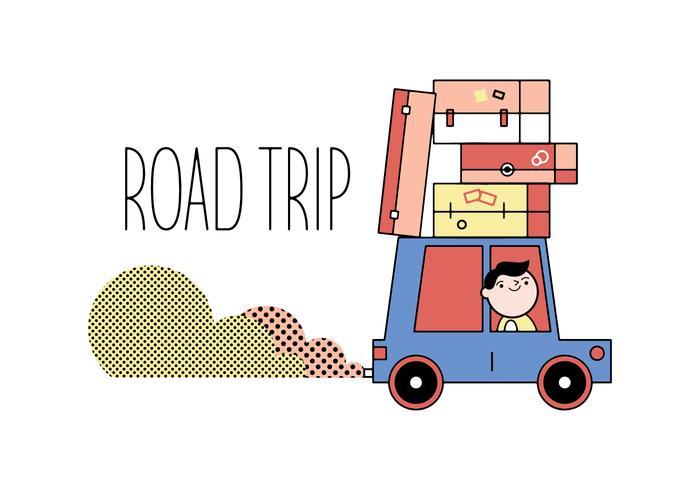 Free Road Trip Vector