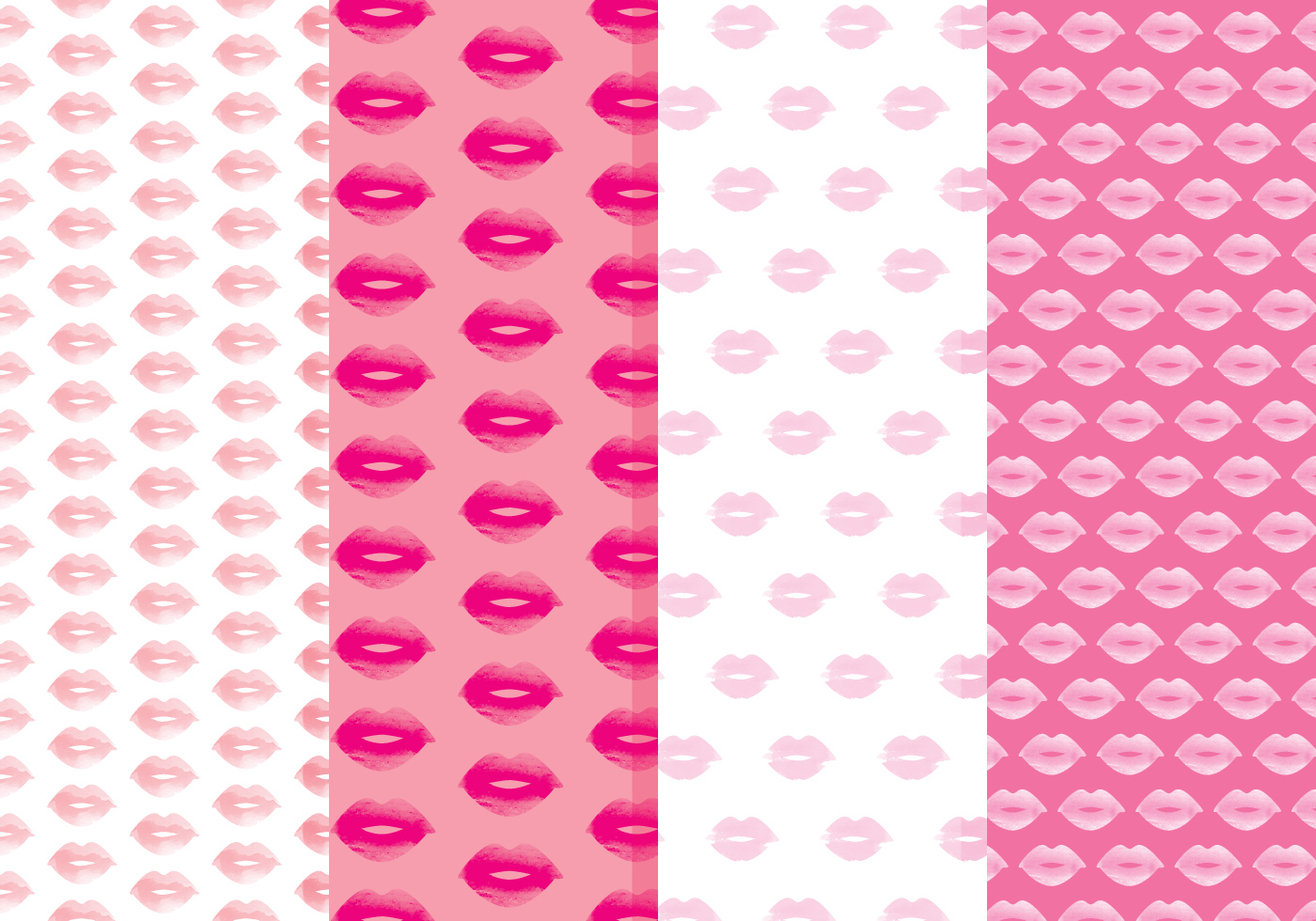 lips vector patterns download free vector art stock