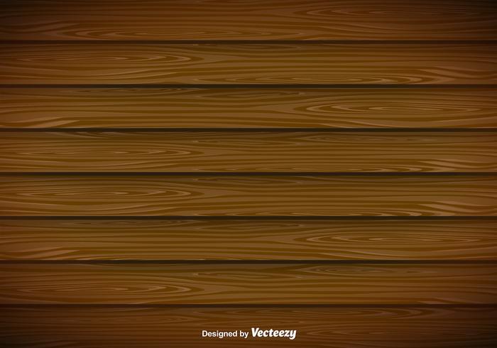 Fundo moderno do vetor de pranchas de madeira
