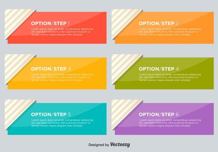 Brochure Information Vector Banners
