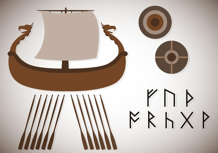 Gratis Assorterad Viking Vector