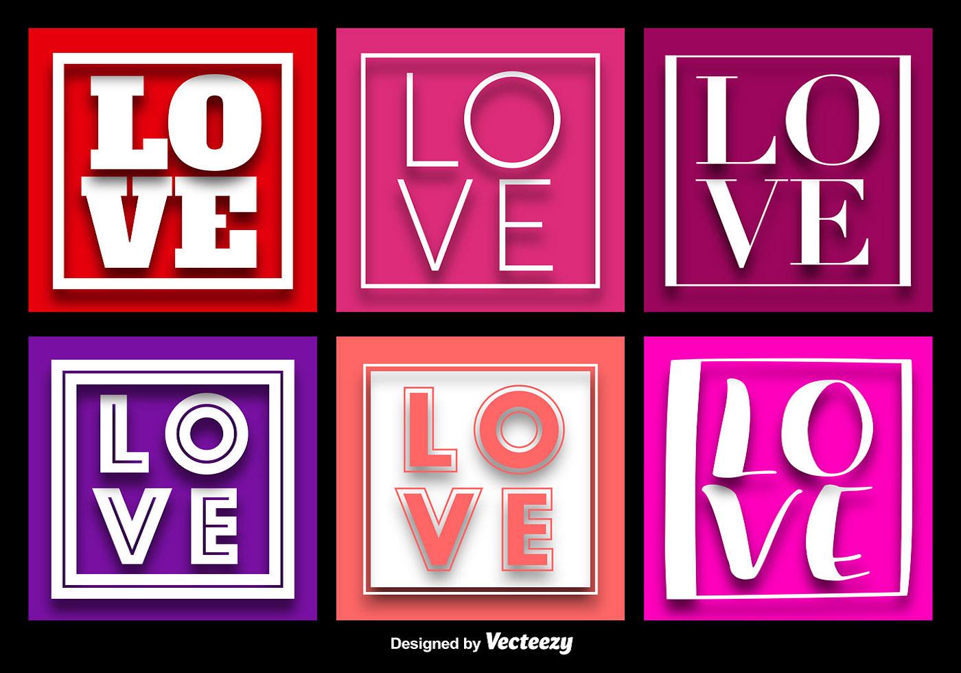 LOVE Word Background Vectors Vector Art at Vecteezy
