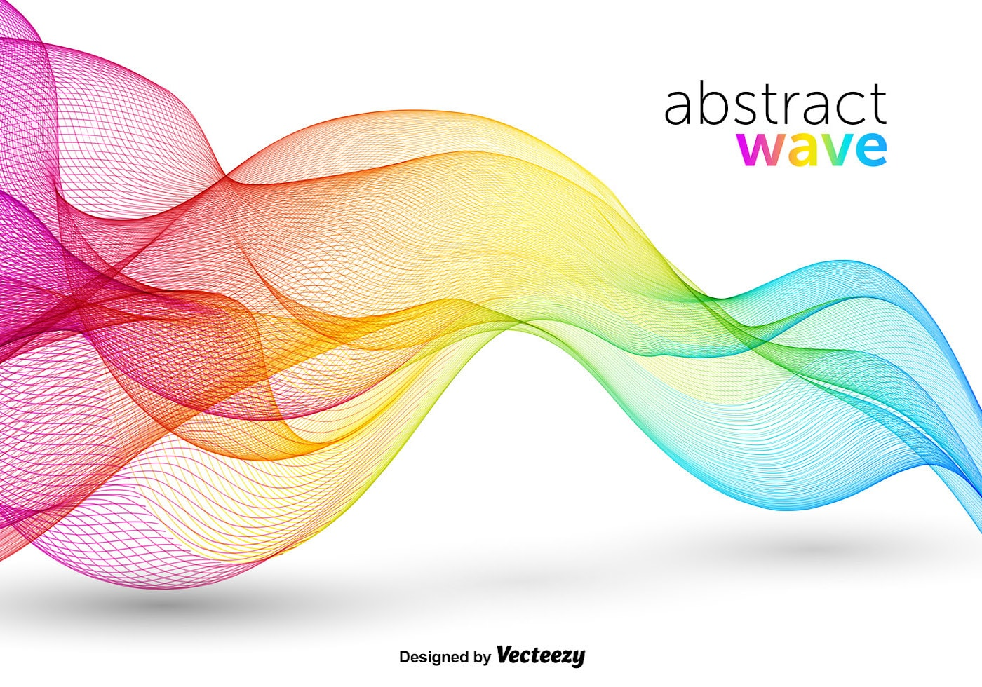 Abstract colorful wave free vector download (33,700 Free ...