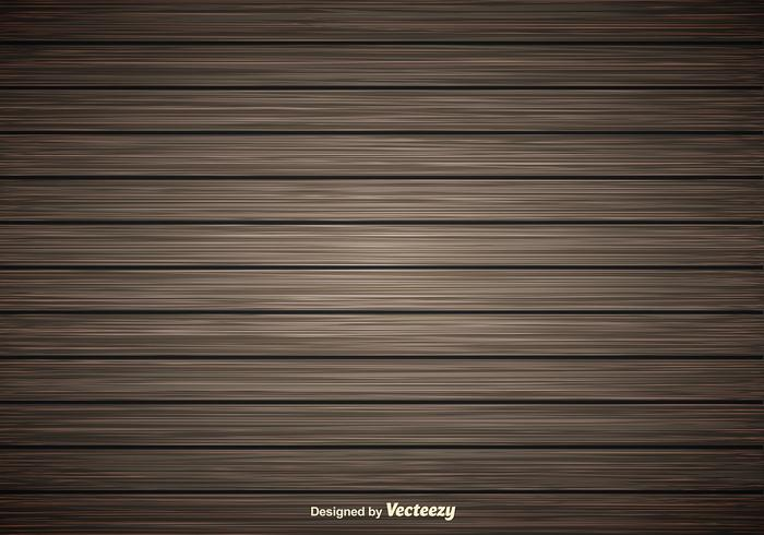 Dark Wooden Planks Vector Background