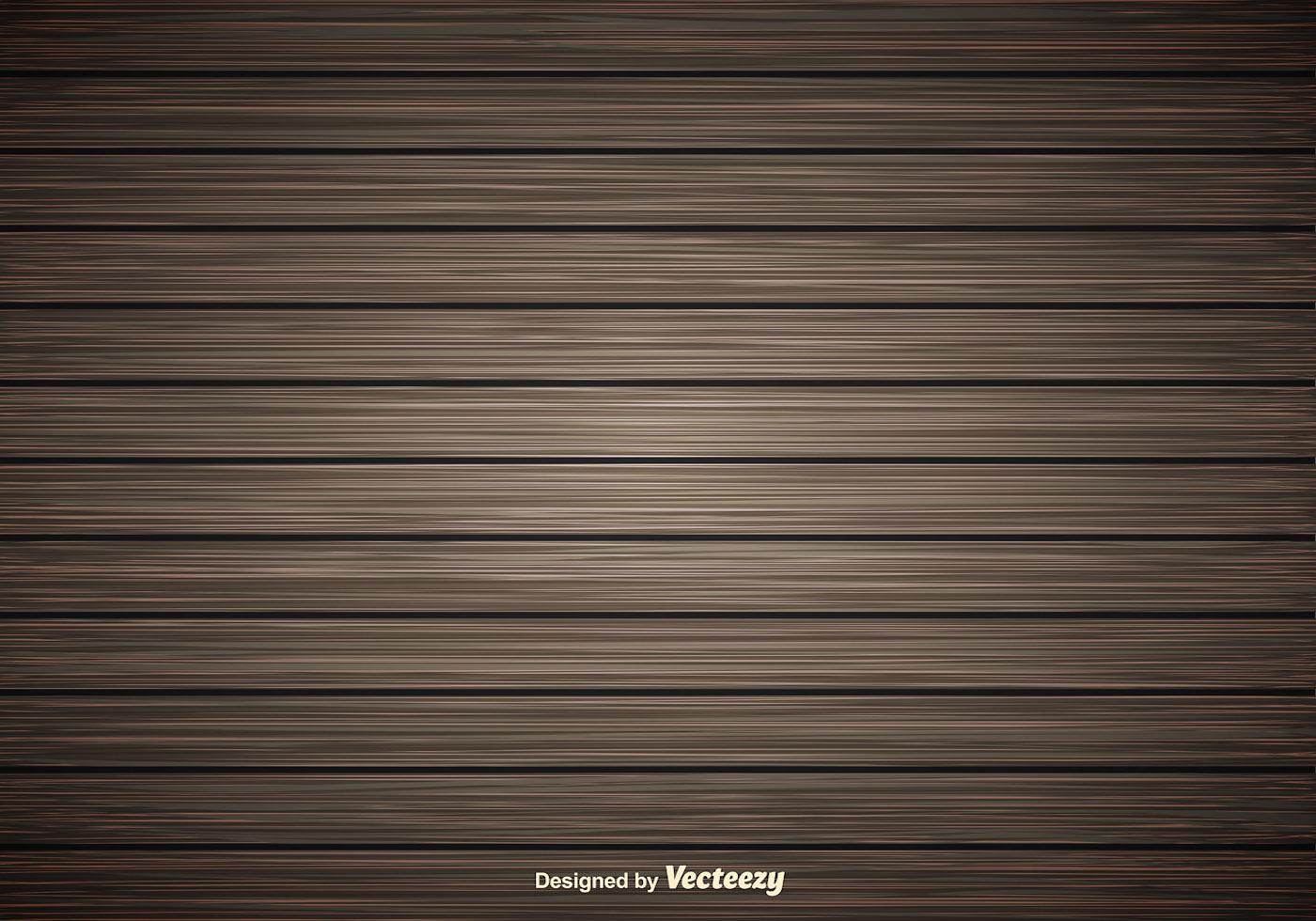 Dark Wooden Planks Vector Background Download Free