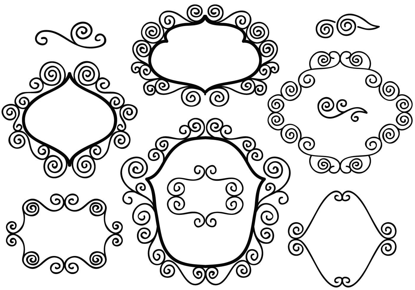 Free Floral Borders Vectors Download Free Vector Art