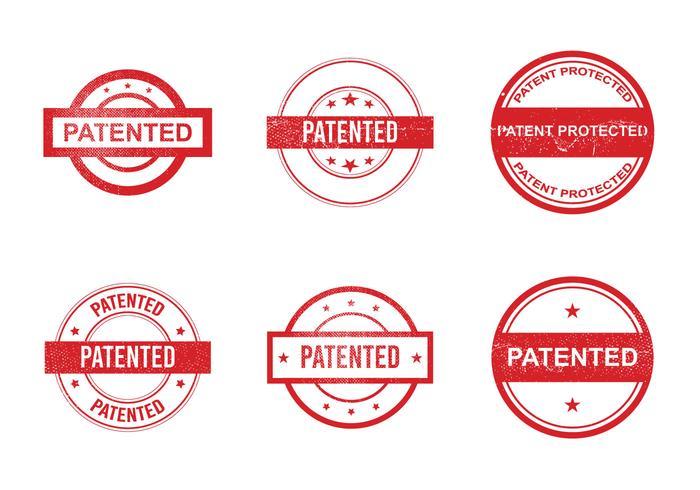 Icône Vector Free Patent