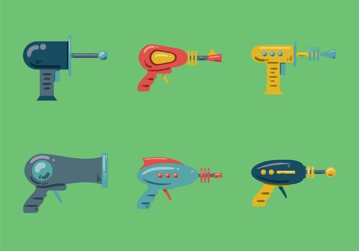 Free láser pistola ilustración vectorial
