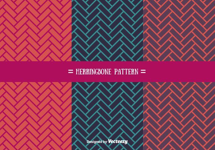 Flat Herringbone Pattern