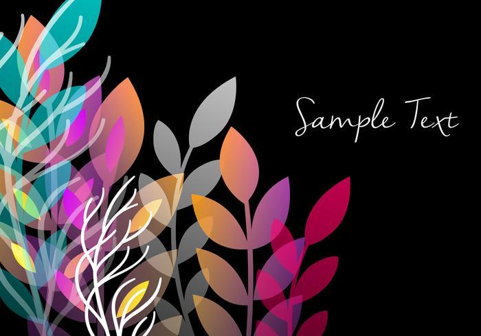Diseño floral decorativo del fondo