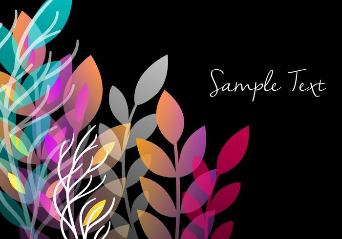 Decorative Floral Background Design