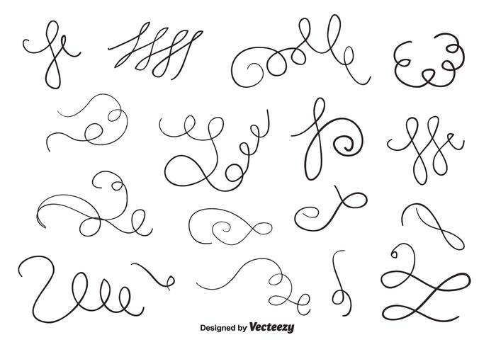 Hand Drawn Ornaments Vector Pack