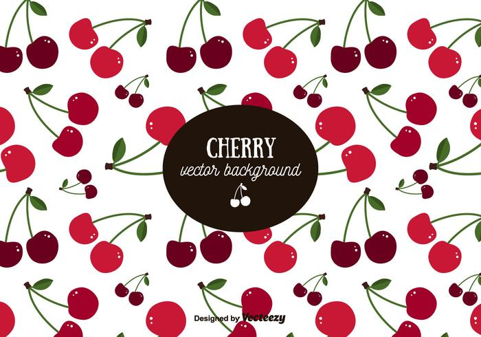 Cherry Pattern Background