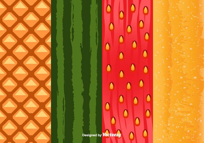 Fruit Peel Pattern Vector