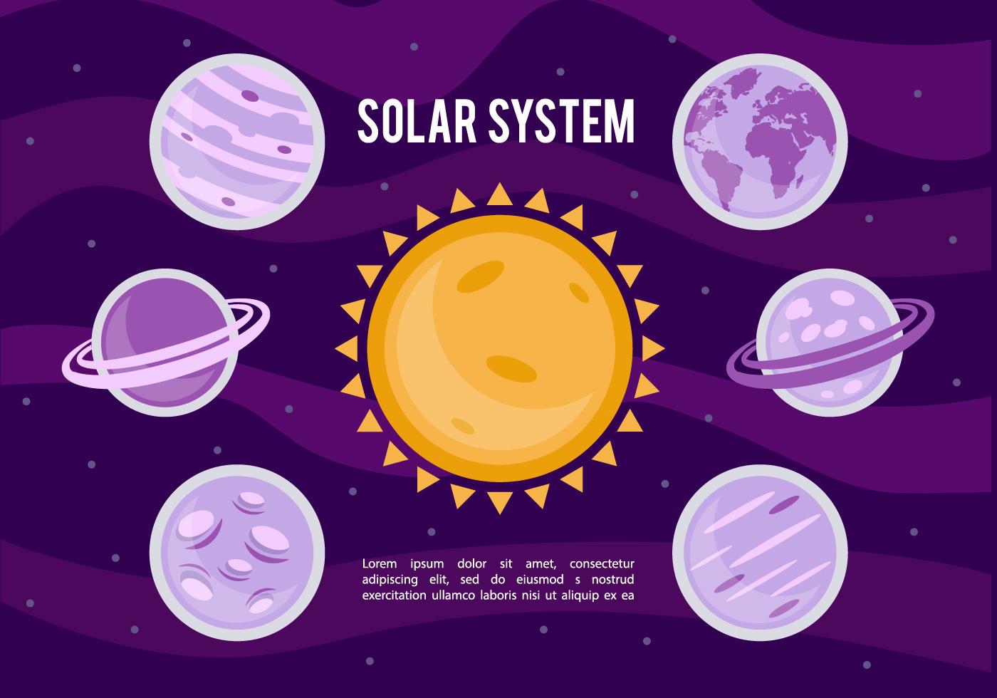 solar system vector - photo #11