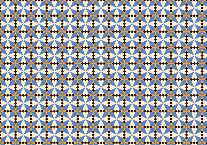 Motif de mosaïque marocaine violette