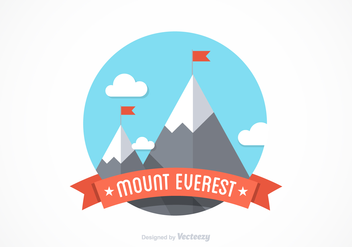 Free Mount Everest Vector Design Download Free Vector Art Stock Graphics Amp Images