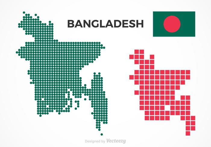 Free Bangladesh Vector Maps
