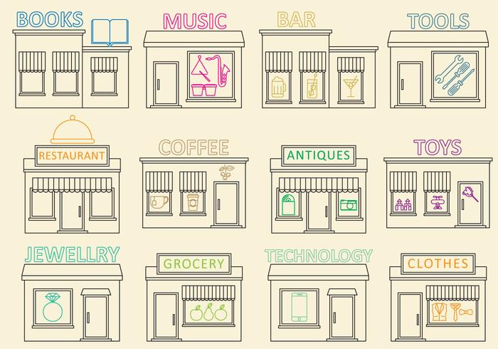 Entrepreneur Business Icon Vectors