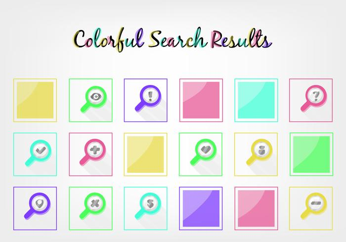 Free Search Results Vector
