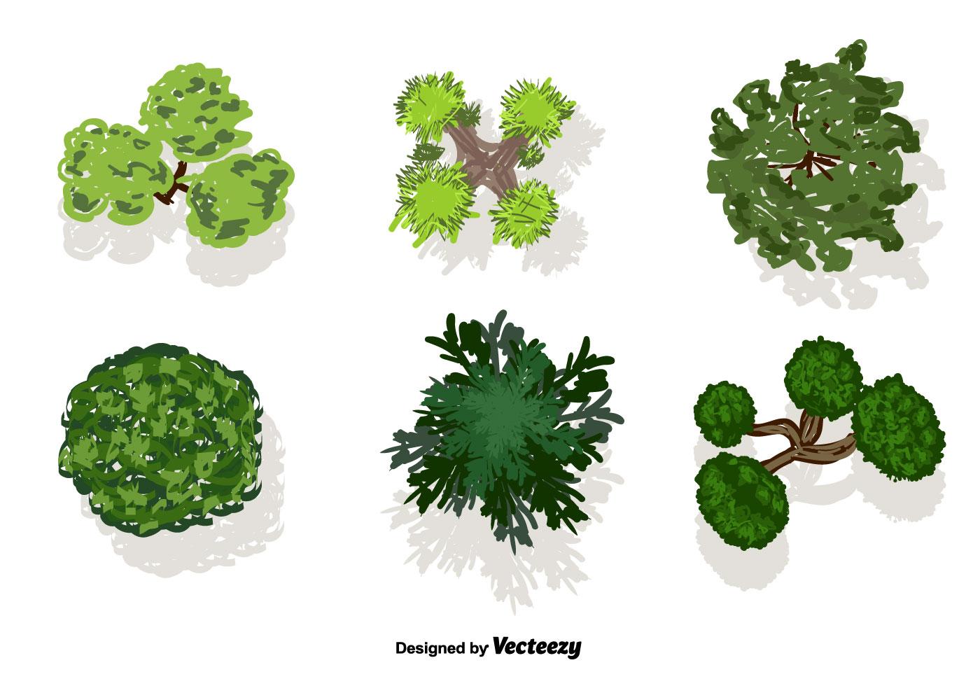 Tree Tops Vector Download Free Vector Art Stock