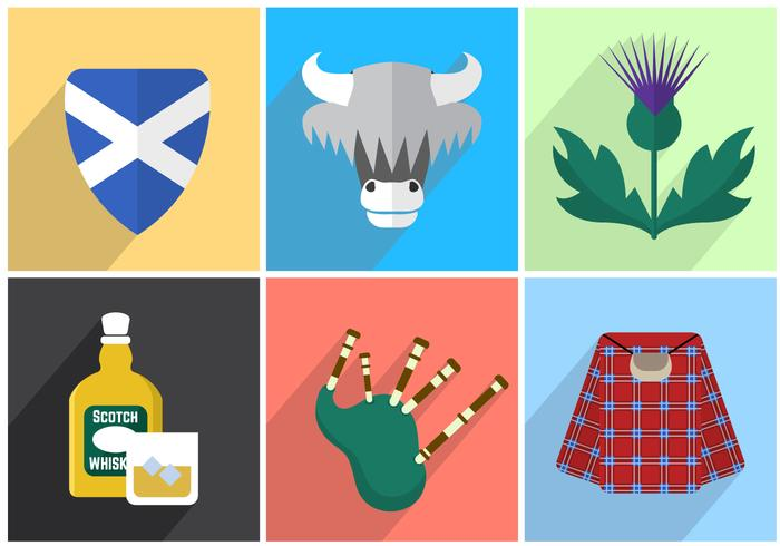 Scotland Vector Illustrations