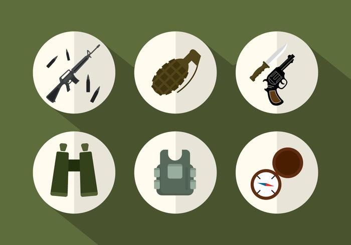 Army Vector Icons