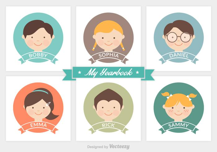 Free Vector Yearbook