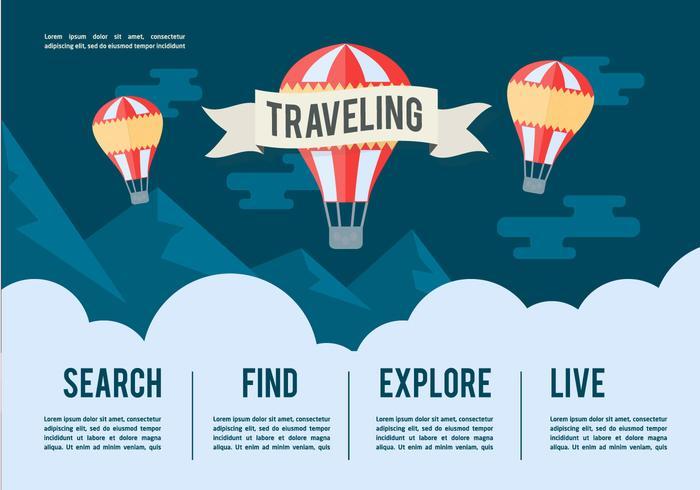 Free Travel Vector Illustration