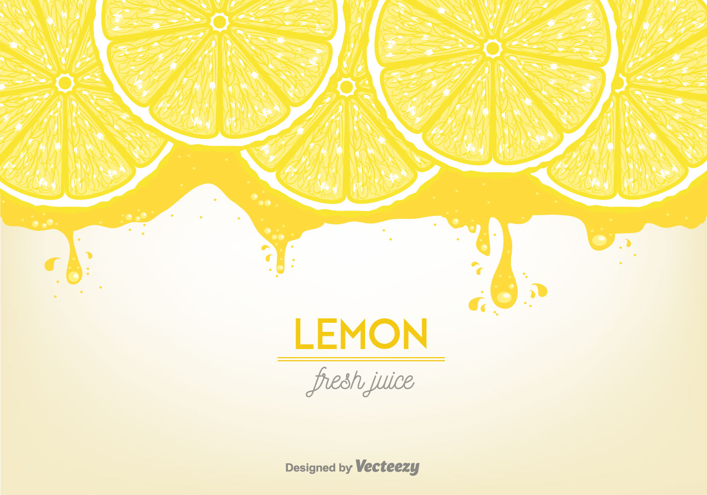 Lemon Juice Background Vector - Download Free Vector Art, Stock ...