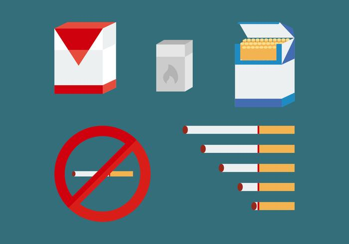 Free Smoking Vector Pack