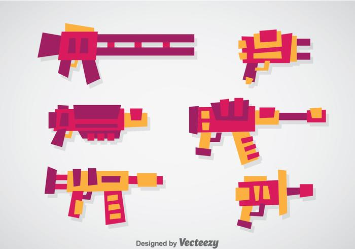 Laser Gun Vector Sets