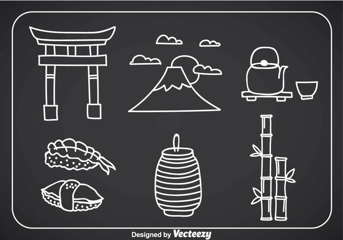 Japanese Culture Doddle Icons