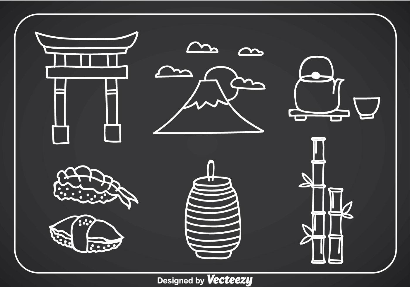 Retro Bamboo Illustration