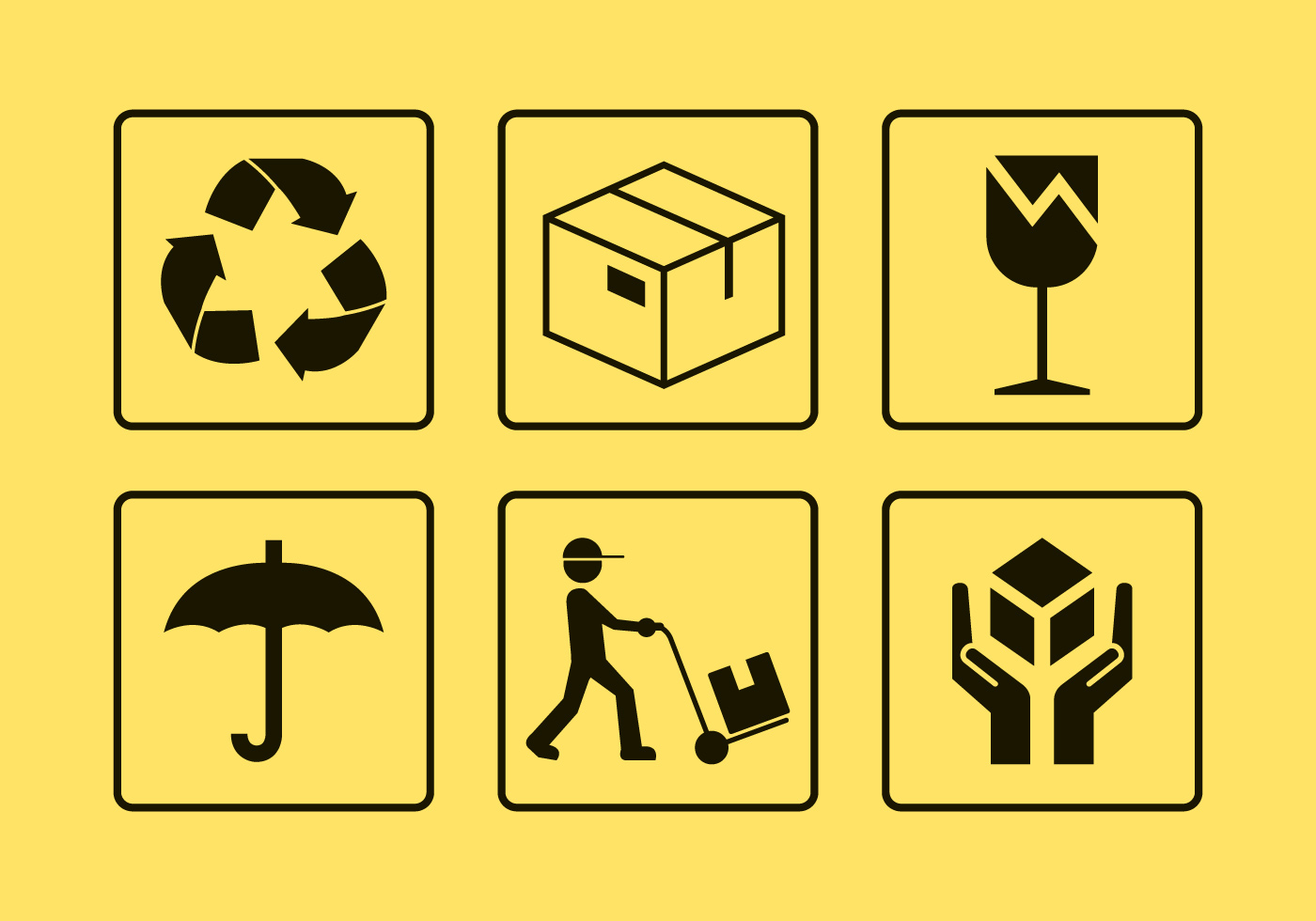 Package Handling Vector Icons Download Free Vector Art