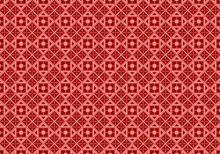 Free Batik Background Vector #4