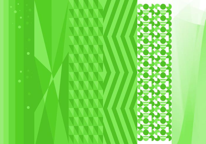 Free Green Background Vector # 2