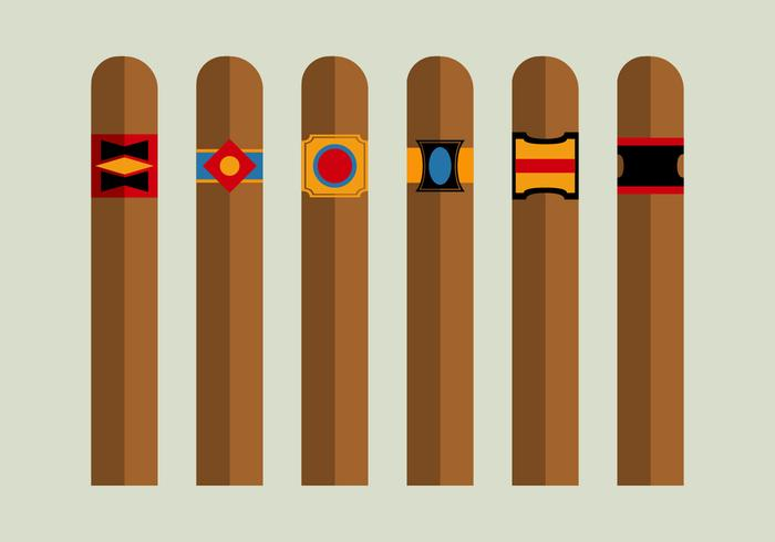 Free Cigars Vector Pack