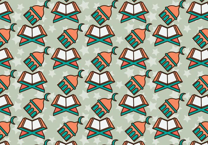 Free Makkah Vector Pattern #1