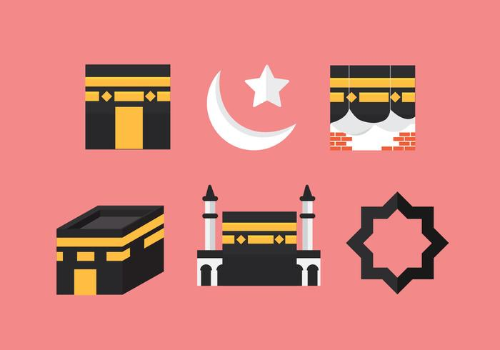 Gratis Makkah Vector Icon # 1