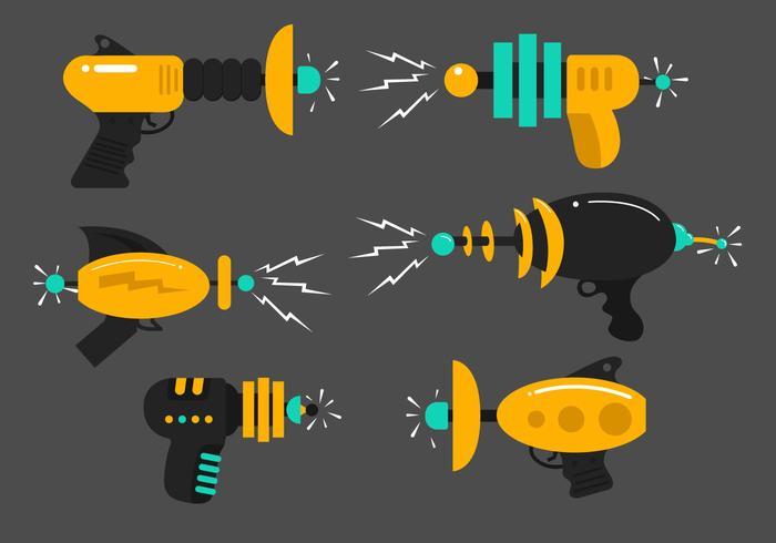 Laser Gun Vectors