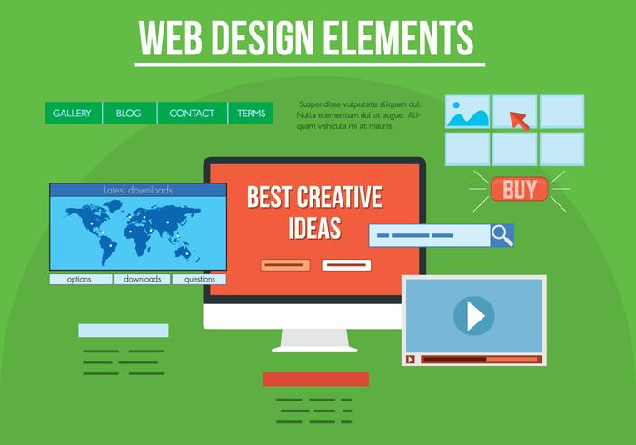 Free Vector Web Design Elements