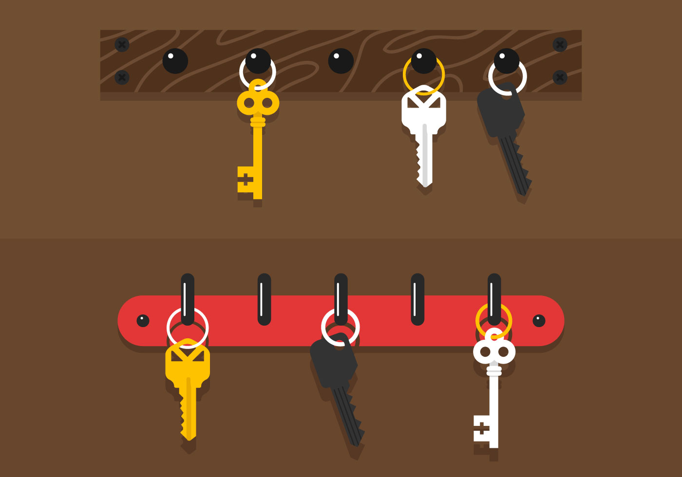 Key Holder Vector Download Free Vector Art Stock