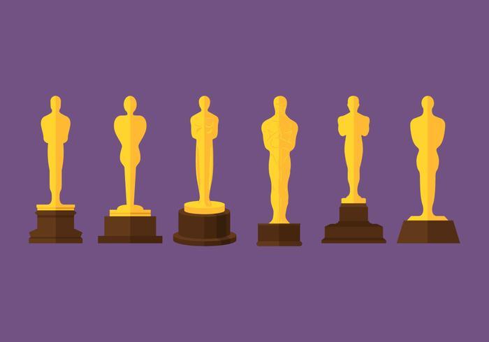 Oscar Statue Vectors