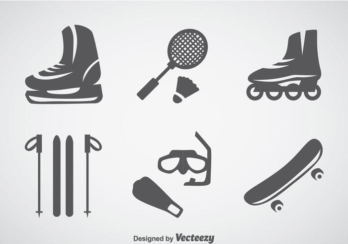 Sports Gray Icons